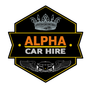 Alpha Wedding Car Hire Logo