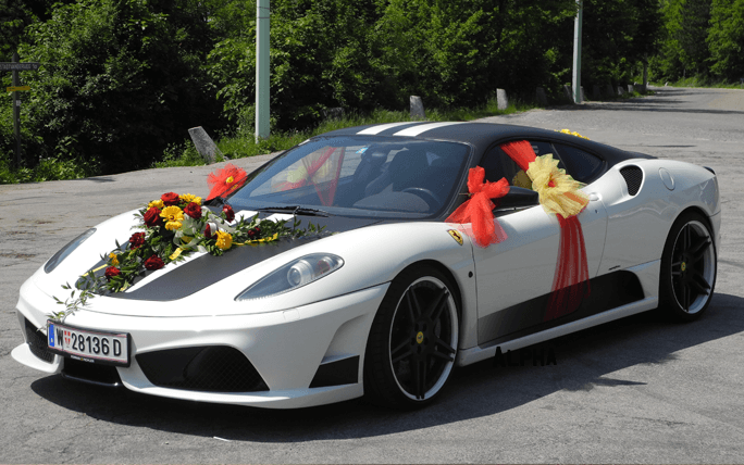 Ferrari Wedding Car Hire