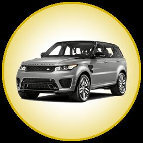 wedding car hire range rover