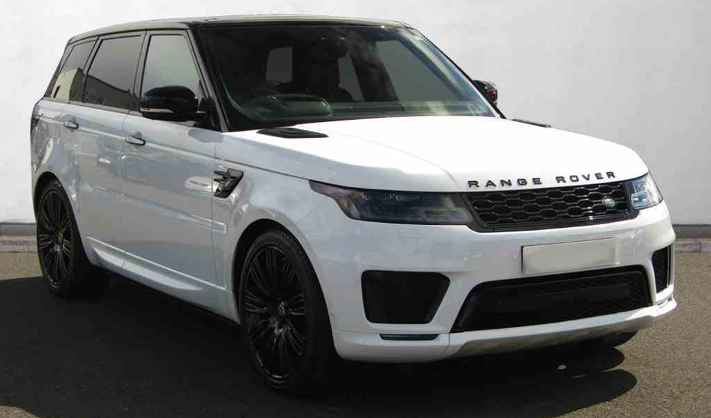 Range Rover Sport white wedding car hire