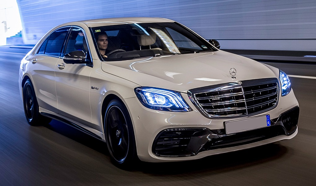 Mercedes S class Birmingham wedding car hire