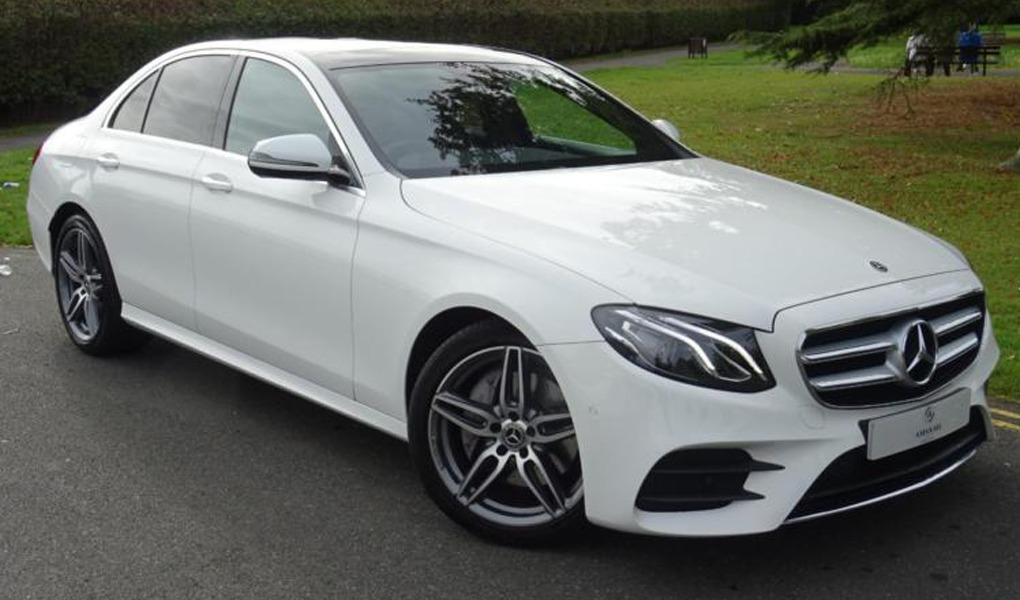 Mercedes E class car hire Birmingham