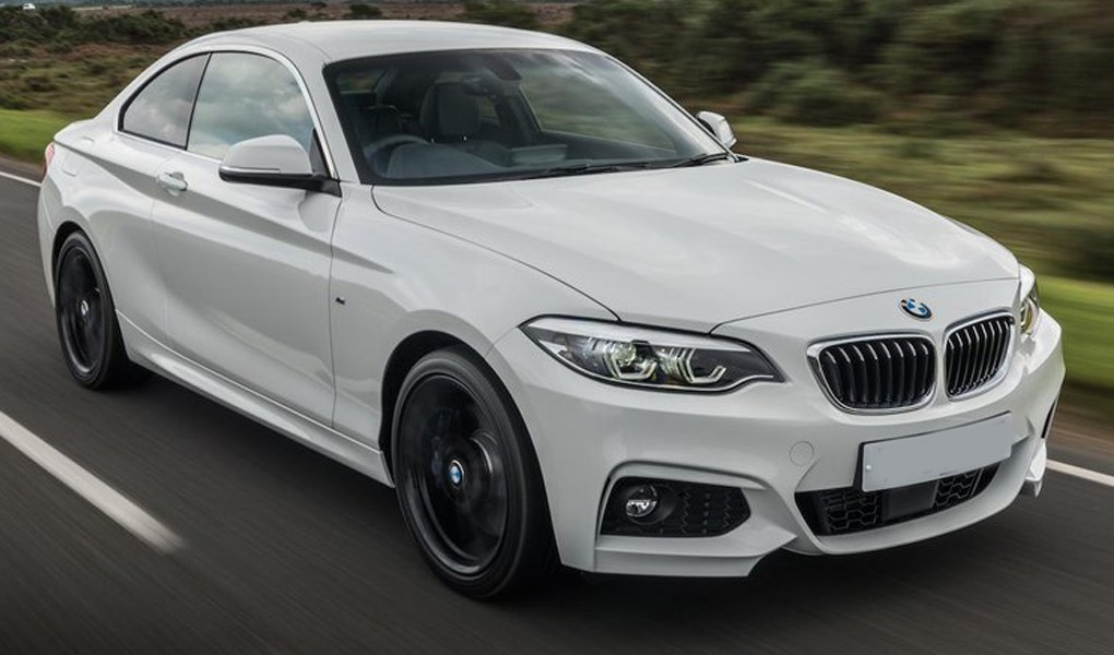 BMW 2 Series for wedding car hire Birmingham