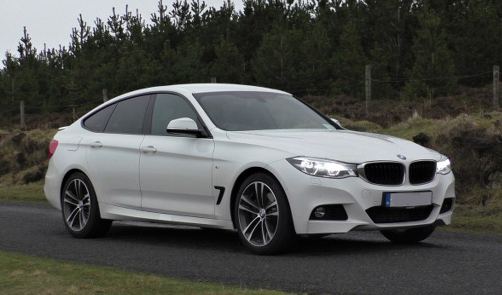 BMW 3 Series wedding car hire Birmingham