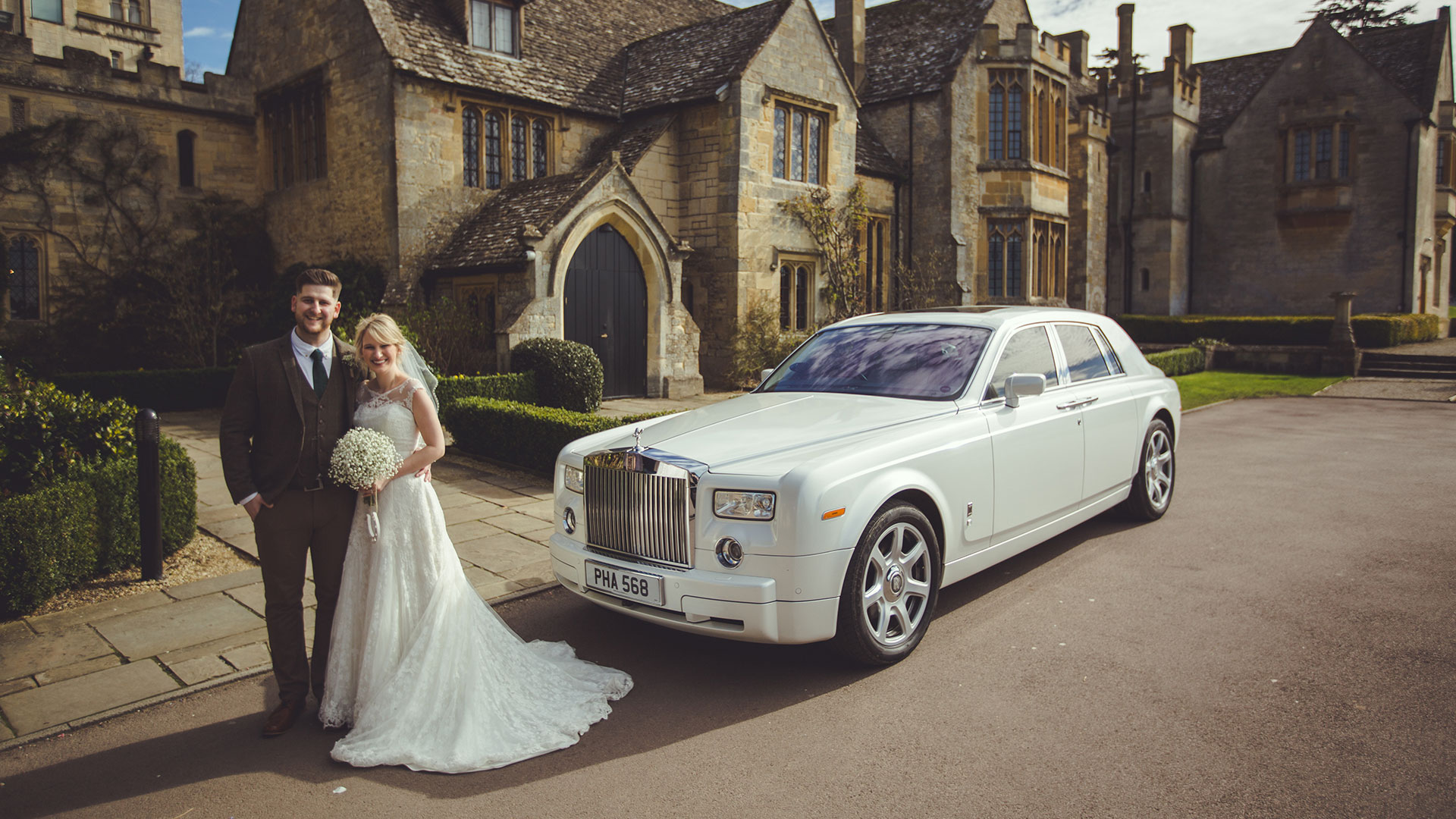 Wedding with Phantom Hire Birmingham